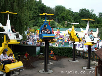 Chopper Squadron ride at Legoland Windsor