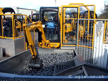 Digger Challenge at Legoland Windsor