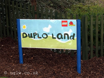 DUPLO Land sign at Legoland Windsor