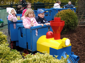 Duplo Train ride at Legoland Windsor