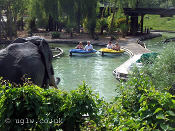 Boating School ride at Legoland Windsor