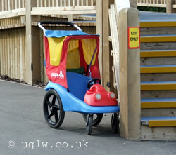A Legoland Windsor single buggy