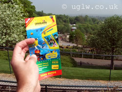 Legoland Windsor park guide leaflet