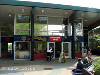 The Discovery Zone, home of Mindstorms at Legoland Windsor