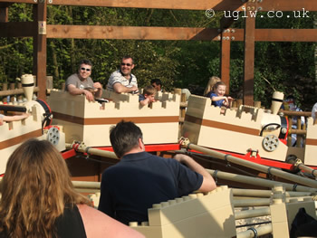 Knights' Quest ride at Legoland Windsor