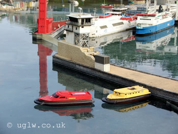Remote Control Boats (foreground) at Legoland Windsor