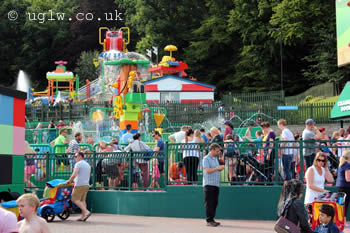 Drench Towers at Legoland Windsor
